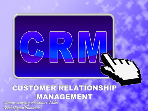 CRM Pointing Hand