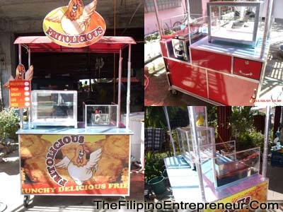Fried Chicken Food Cart