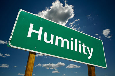 Humility Signboard