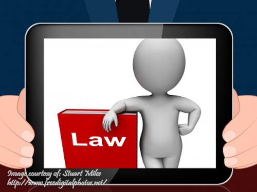 Law on Tablet