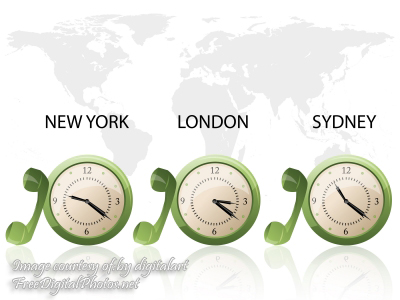 Are You Ready to Market Your Business in Another Time Zone?