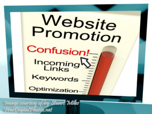 Website Promotion Confusion