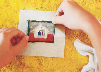 Christmas Business Idea Making Greeting Cards