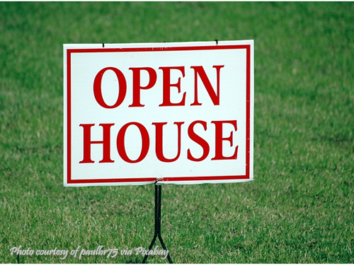 Open House Signage
