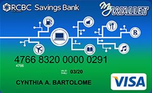 RCBC My Wallet Visa Card
